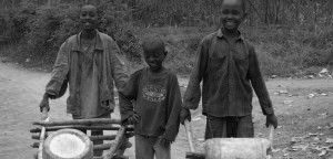 Perforació d'un pou d'aigua potable