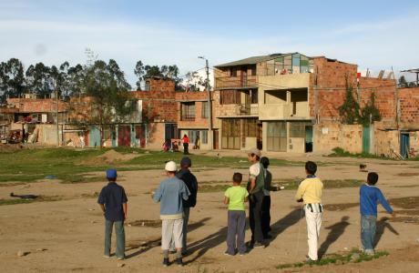 Acollida integral de nens i nenes en risc d'exclusió